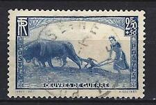 France 1940 la femme au labour Yvert n° 457 oblitéré 1er choix (2)