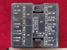 Datsun 280ZX Fuse Box Cover for ATO/ATC pin type fuse boxes