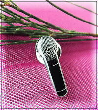 Shure Microphone Pin Badge
