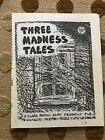 MAIL ART Blaster Al Ackerman correspondence 1984 Fredric Brown 3 Madness Tales