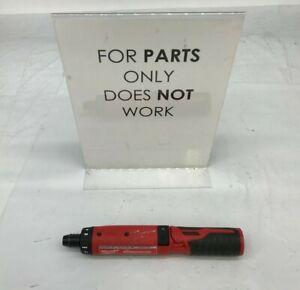 "Milwaukee 2101-20 M4 4V 1/4"" Cordless Lithium-Ion Hex Screwdriver - Bare Tool P"