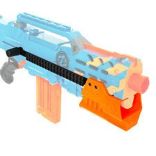 Worker MOD F10555 Pump Kit Rail Combo 3D Print Orange Nerf LongShot Modified Toy