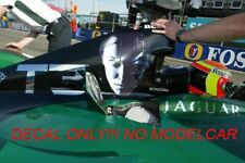decal TERMINATOR 3 Jaguar R4 minichamps 1/43 Webber Pizzonia  British GP 2003