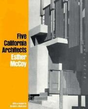 Five California Architects by Randall L. Makinson & Esther McCoy Paperback Book