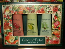 Crabtree & Evelyn Hand Therapy Gift Box Of 3 / .25 Oz Each / New