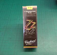 More details for vandoren zz tenor saxophone reeds
