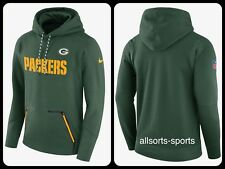 3B21 Nike NFL Therma joueurs Green Bay Packers Sweat à capuche homme L Large 853349-323