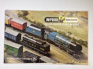 Wrenn Railways Second Edition Handbook - Excellent Condition - FREE POST