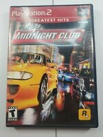 Midnight Club: Street Racing Playstation 2 PS2 Game Complete Tested CIB
