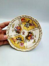 More details for antique meissen quatrefoil courting scene porcelain plate