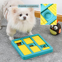Dog Puzzle Food Slow Feeder Dispenser Plate for IQ Training Interactive Toys