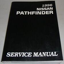 Werkstatthandbuch / Service Manual Nissan Pathfinder R50 1996
