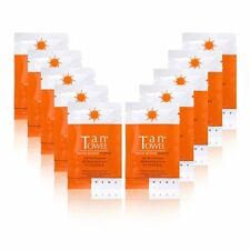 TAN TOWEL ~ tantowel PLUS x 10 HALF BODY SELF TAN TOWELETTE NEW! rrp $50!