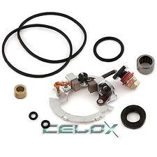 NEW 1985-1986 Honda TRX 250 Fourtrax FOUR BRUSH Starter Rebuild Kit Plates Set