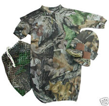 Mossy Oak Camouflage 3 Pc Baby Infant Gift Set - Creeper Hat Booties