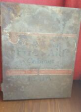 Vintage First Aid Cabinet Utility Chicago New York Toronto Medical Metal Salvage