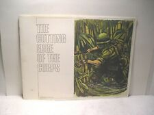 """The Cutting Edge Of The Corps"" Combat Art Collection Booklet Vietnam 1972"