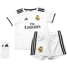 adidas Real Madrid 2017 - 2018 Toddler Home Soccer Kit White   Sky 2t e015d6ee0b764