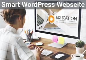 """""""Smart"""" Webseiten Programmierung - Webdesign - WordPress Website- Homepage"""