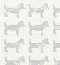"""Thibault Anna French Baxter Wallpaper Silver AT79129 Double Roll 20 1/2"""" x 11 yd"""