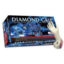 MIRCROFLEX POWDER FREE DIAMOND GRIP LATEX GLOVES X-LARGE 1 CASE / 10 BOXES