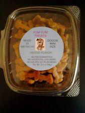Doggie Yum Yum Treats Veggie Flavor Mini Size 2.4oz pkg - DELICIOUS