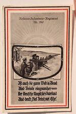 27766 AK Reserve Infanterie-Regiment Nr. 241 Sachsen 1916 Deutsche kämpft fürs
