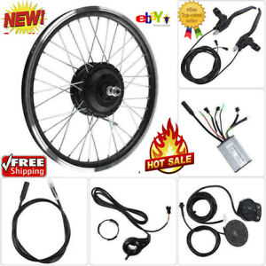 250W KT900S LED Electric Bicycle E Bike Front Rear Wheel Conversion Kit durable