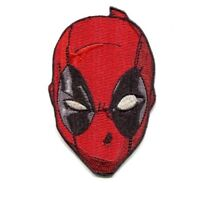 DeadPool face Iron On Patch Dead pool Movie Iron on Patch Brand New Sew on Patch