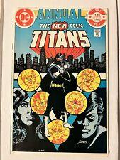 New listing New Teen Titans (1982) Annual #2 Key 1st Vigilante Hbo Max Peacemaker Nm