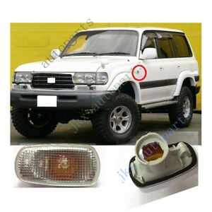 2x Side Fender Marker Light k for Toyota Land Cruiser Prado /KLUGER /PRIUS /RAV4