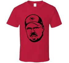 Andy Reid Kansas City Cartoon Head T Shirt