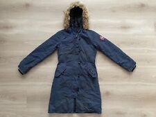 Canada Goose Youth Brittania 4593Y Parka Spirit Blue Jacket Large 14-16years