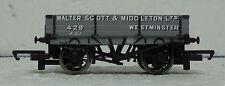 Hornby R6576 3 Plank Wagon Walter Scott & Middleton