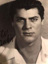Tony Curtis SIGNED Autograph JSA COA 10x11 Photo