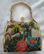 Vintage Butler and Wilson embroidered and beaded cocktail / evening bag