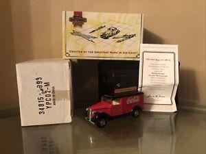 MATCHBOX COLLECTIBLES YPC02-M COCA COLA BRAND Die cast 1937 GMC VAN Truck NEW