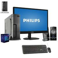 Pc desktop intel i3 Ram 8Gb/Ssd 480GB Monitor 19 Pc Completo/Computer windows 10