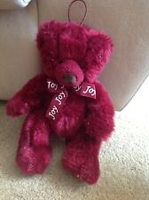 "Tri Russ Int'l Joy Teddy Bear- 10"" Stuffed"