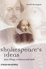 Shakespeares Ideas (Blackwell Great Minds)-ExLibrary