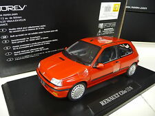 1:18 Norev Renault Clio 16 S rouge Norev 1:18 Neuf New