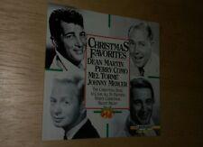 Christmas Favorites CD Dean Martin Perry Como Mel Torme Johnny Mercer Holiday