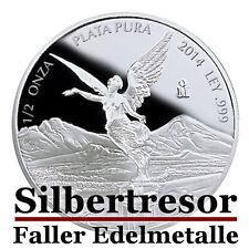 Mexiko - Libertad Siegesgöttin 2016 - 1/2 Oz Silber PP