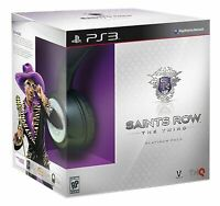 Saints Row: The Third - Platinum Pack w/ Headset [PlayStation 3 PS3] NEW