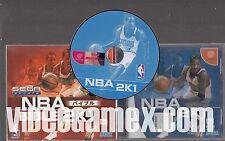 NBA 2K1 Long Box Limited Edition Import [Complete Japan Dreamcast] [VideoGameX]