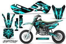Decal Graphic Kit Wrap For Kawasaki KLX 110 2002-2009 KX 65 2002-2018 NW MINT