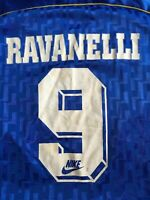 Italia Ravanelli 1995 1996 Maglia shirt jersey maillot worn issued match Nike