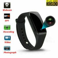HD 1080P SPYCamera DVR Hidden Camera Wearable Wrist Watch Mini Video Recorder SD
