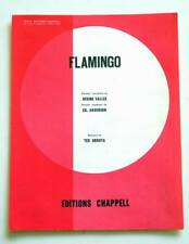 Partition sheet music CATERINA VALENTE : Flamingo * 50's Ted Grouya