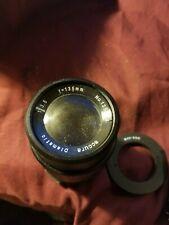 Accura Diamatic Camera Lens Vintage 1:3.5 f=135mm #135554 & M42 Adapter